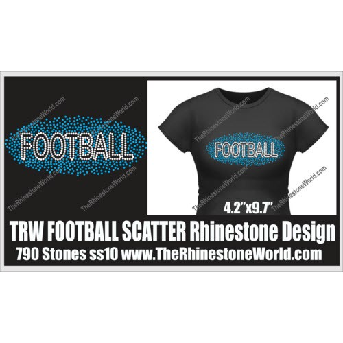 TRW Scatter FOOTBALL Design  - Download