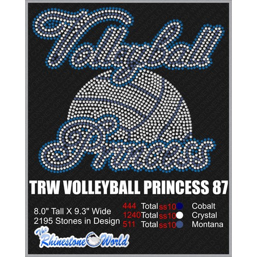 VOLLEYBALL PRINCESS 87 Design  - Download