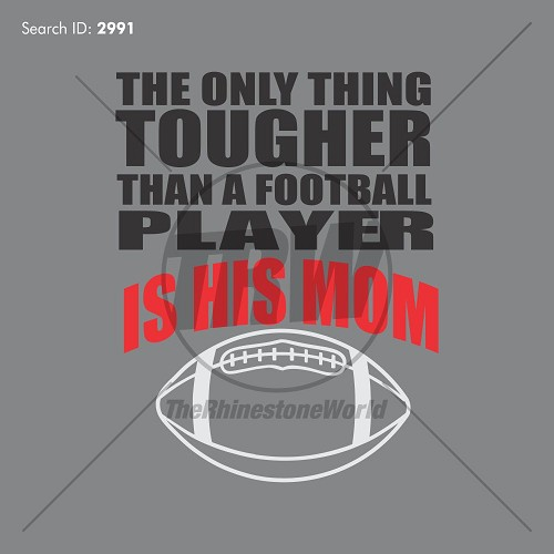 THE ONLY THING TOUGHER FOOTBALL VECTOR - Download