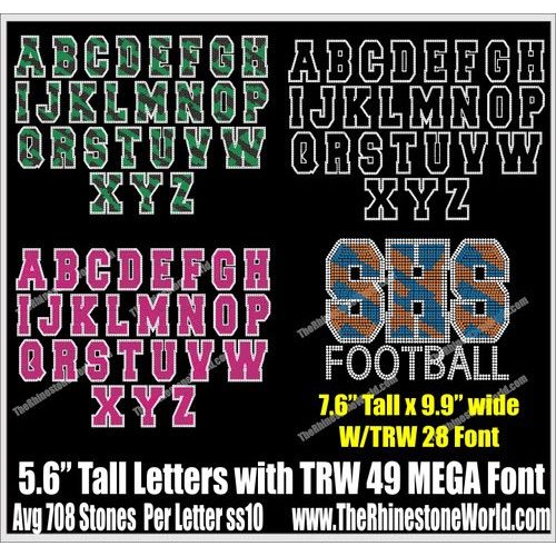 Download SFD-TRW49BIGBOY-TRW 49 BIGBOY MEGA Font Pack - Download