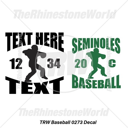 TRW Baseball 0273 Decal (Vol 1) - Download