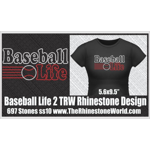 TRW Baseball Life 2 Design W/ MOCKUP  - Download