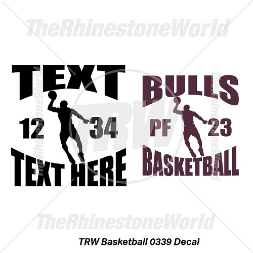 TRW Basketball 0339 Decal (Vol 1) - Download