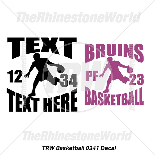 TRW Basketball 0341 Decal (Vol 1) - Download