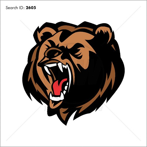 Bear 1 Vector Mascot - Download