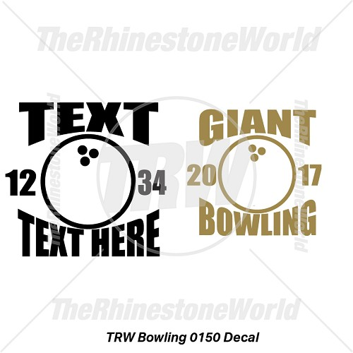 TRW Bowling 0150 Decal (Vol 1) - Download