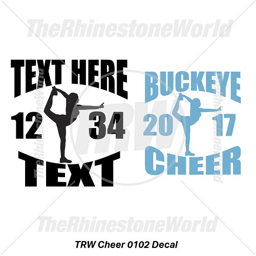TRW Cheer 0102 Decal (Vol 1) - Download
