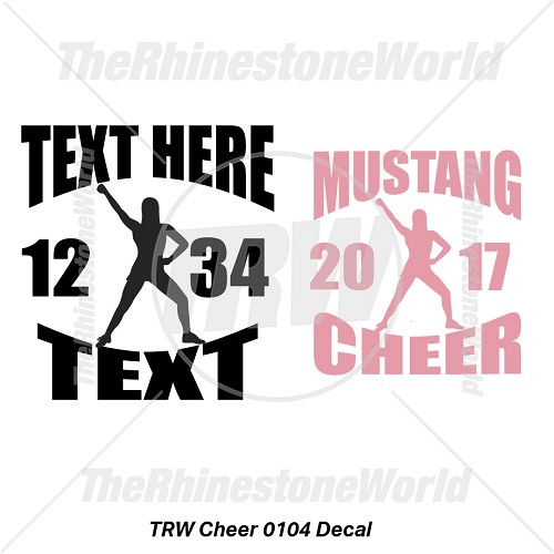 TRW Cheer 0104 Decal (Vol 1) - Download
