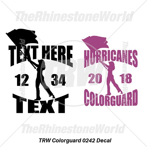 TRW Colorguard 0242 Decal (Vol 1) - Download