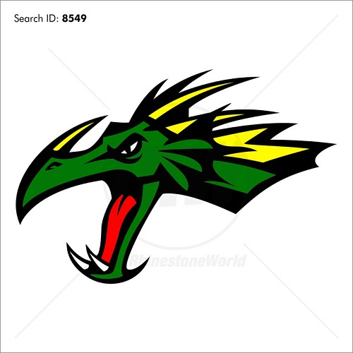 Dragon 4 Magic Cut Mascot - Download
