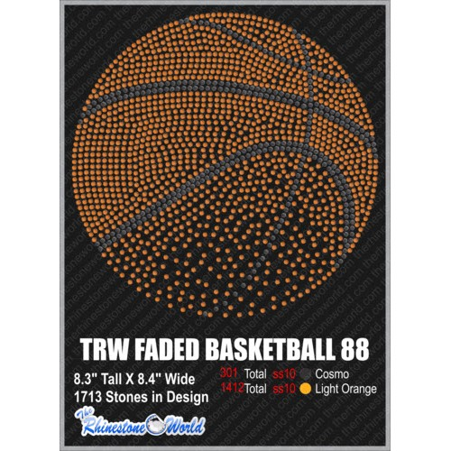 TRW FADED Basketball 88 Design   - Download