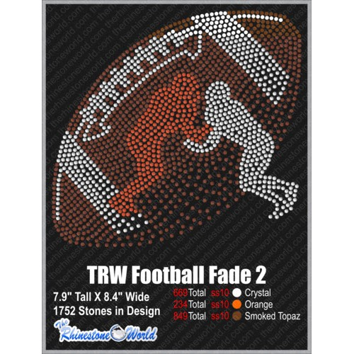 TRW FOOTBALL FADE OUT 2 Design   - Download
