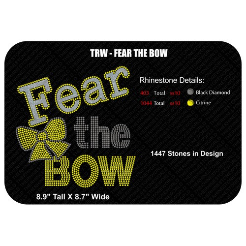 TRW Fear the Bow Multi Dec Design  - Download