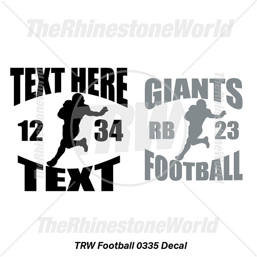 TRW Football 0335 Decal (Vol 1) - Download