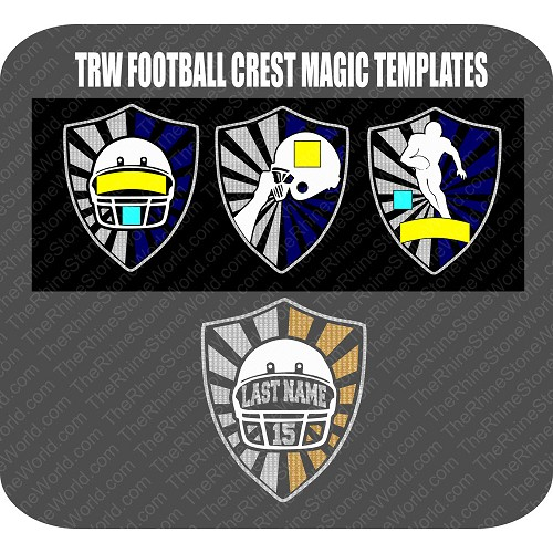 TRW Football Crest Template Pack  - Download