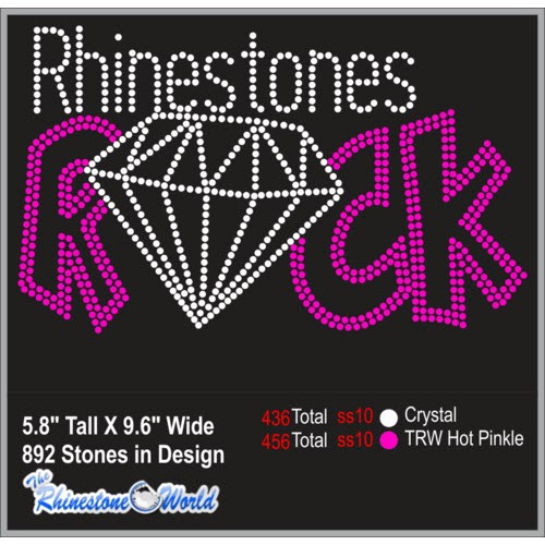Rhinestones Rock Rhinestone Design - Download