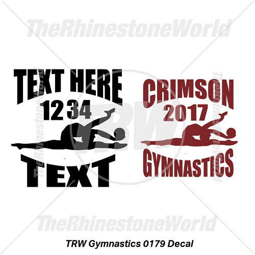 TRW Gymnastic 0179 Decal (Vol 1) - Download