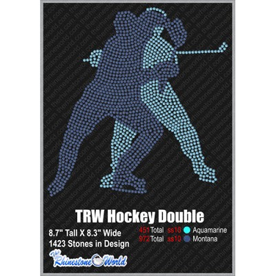 TRW HOCKEY DOUBLE Design W/ MOCKUP  - Download