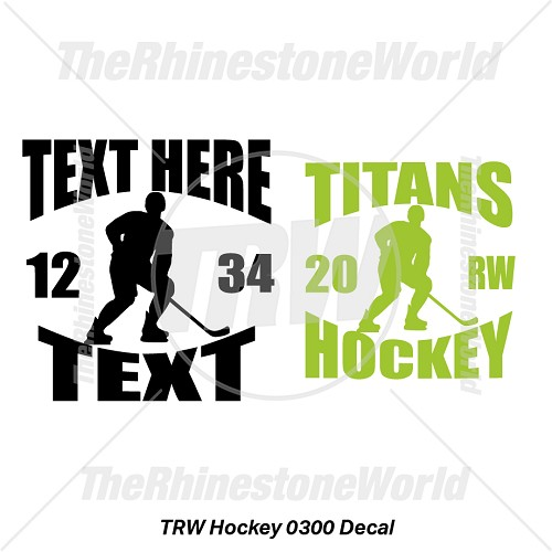 TRW Hockey 0300 Decal (Vol 1) - Download