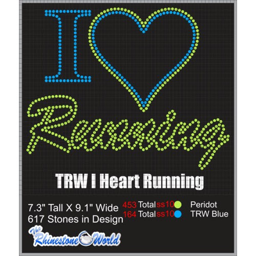 TRW I HEART RUNNING Design  - Download