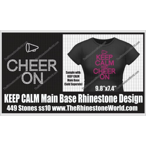 TRW KEEP CALM CHEER Add-On Design  - Download