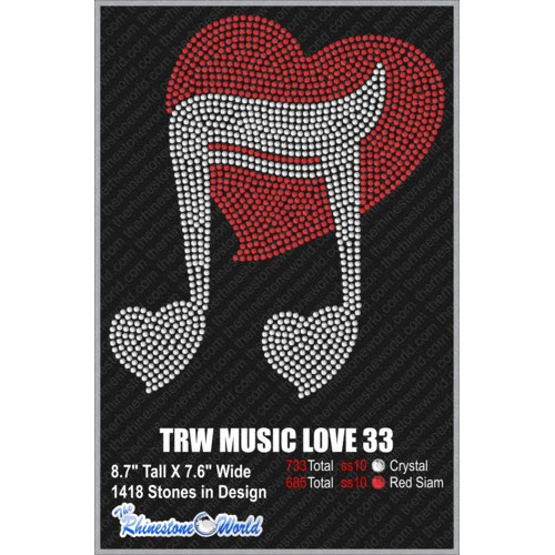 TRW MUSIC LOVE 33 Design   - Download