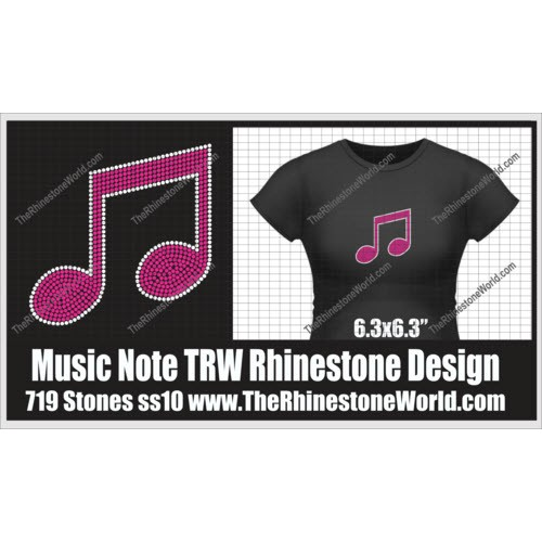 TRW Music Note Design  - Download