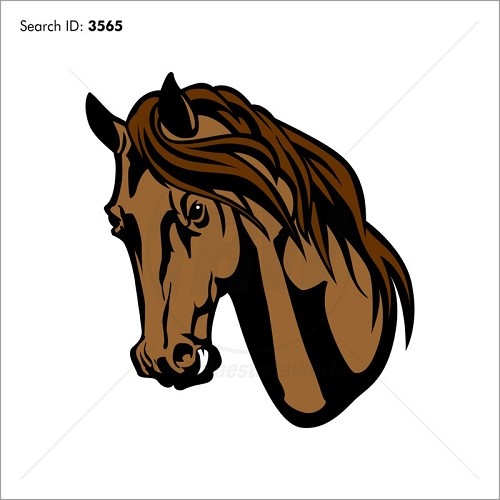 Mustangs 2 Vector Mascot - Download