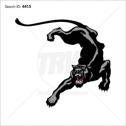 Panther 2 Vector Mascot - Download