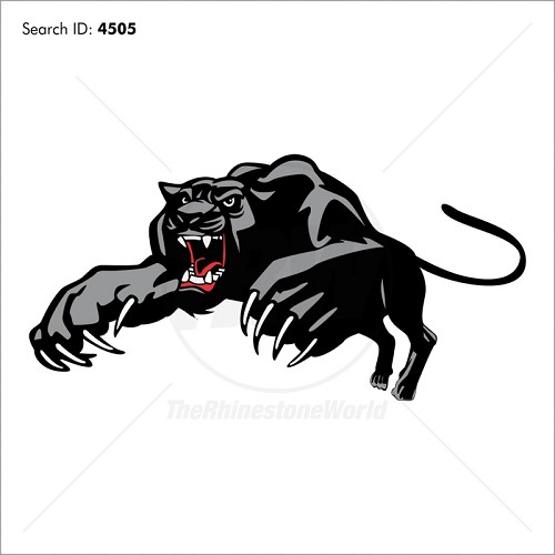 Panther 5 Vector Mascot - Download