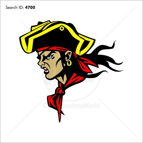 Pirate 7 Vector Mascot - Download