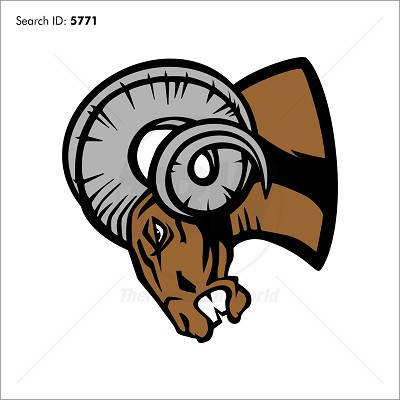 Ram 6 Vector Mascot - Download