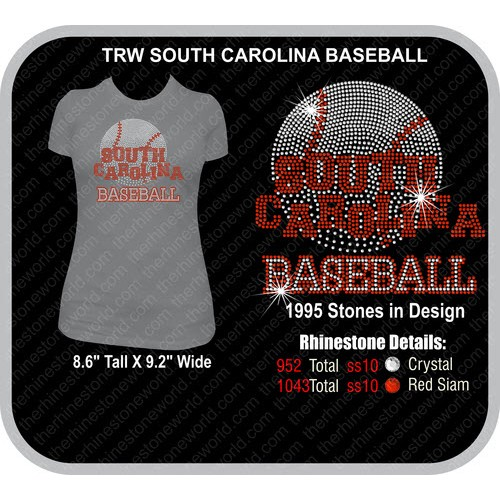 TRW SOUTH CAROLINA BASEBALL Design  - Download