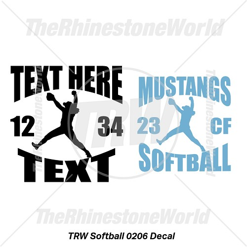TRW Softball 0206 Decal (Vol 1) - Download