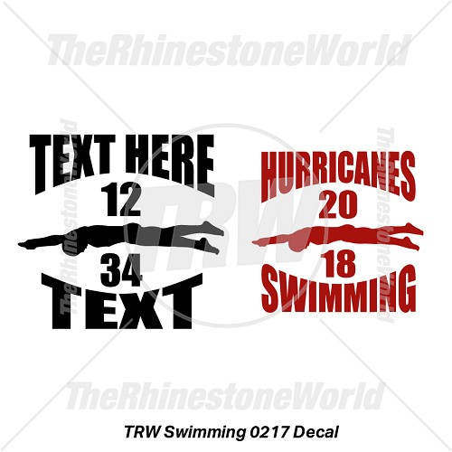 TRW Swimming 0217 Decal (Vol 1) - Download