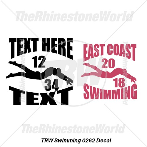 TRW Swimming 0262 Decal (Vol 1) - Download