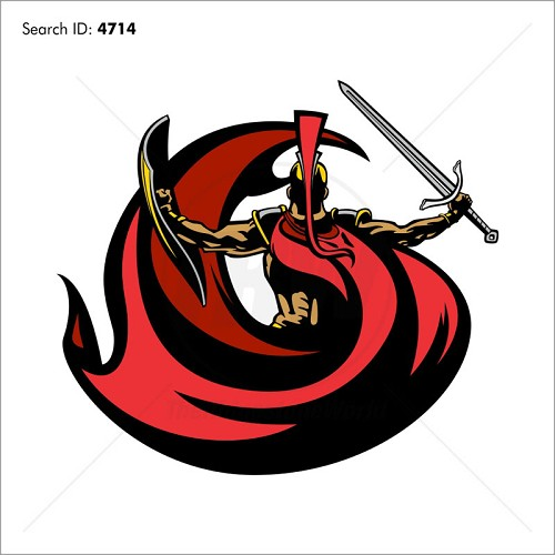 Trojan 2 Vector Mascot - Download