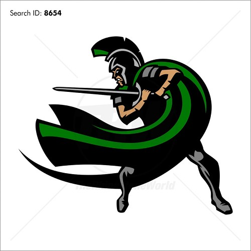 Trojan Spartan 4 Magic Cut Mascot - Download