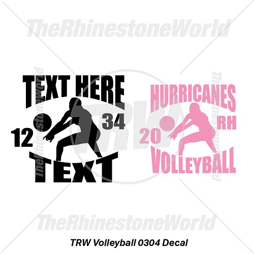 TRW Volleyball 0304 Decal (Vol 1) - Download