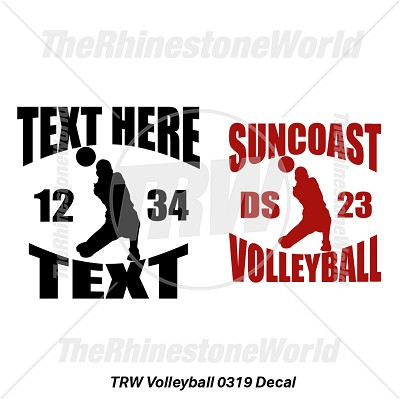 TRW Volleyball 0319 Decal (Vol 1) - Download