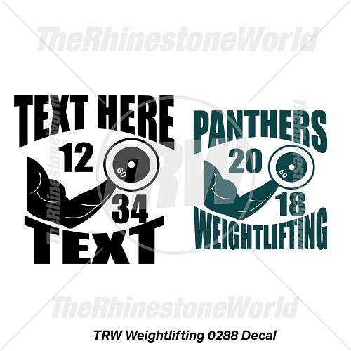 TRW Weightlifting 0288 Decal (Vol 1) - Download