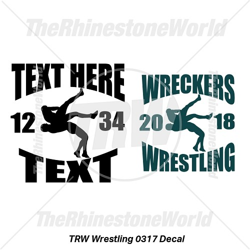 TRW Wrestling 0317 Decal (Vol 1) - Download