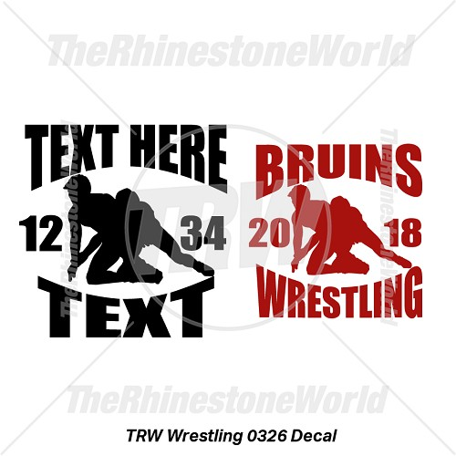 TRW Wrestling 0326 Decal (Vol 1) - Download