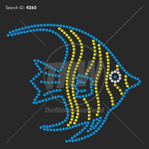 Tropical Fish Rhinestone Design - Download