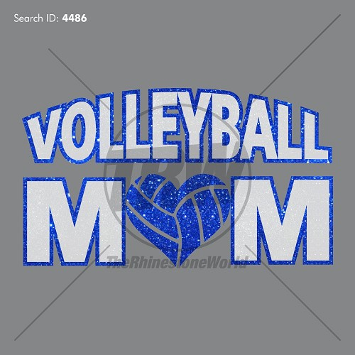 Vector Volleyball Mom - Download
