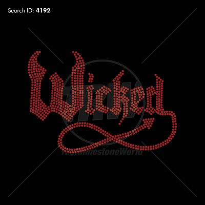 Wicked Rhinestone Design - Download