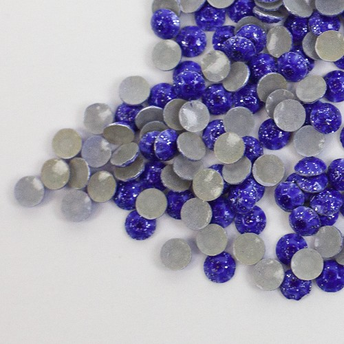 Glitter Hot-Fix Purple SS6 Rhinestuds 25-Gross