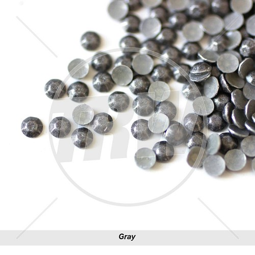 Sparkling Hot-Fix Gray SS6 Rhinestuds 50-Gross