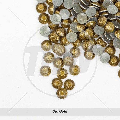 Sparkling Hot-Fix Old Gold SS10 Rhinestuds 500-Gross
