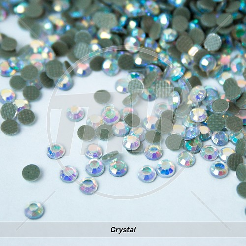 (AB) Hot-Fix Crystal SS16 Rhinestones 50-Gross